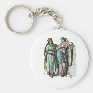 Jewish women from before the time of Christ Keychain