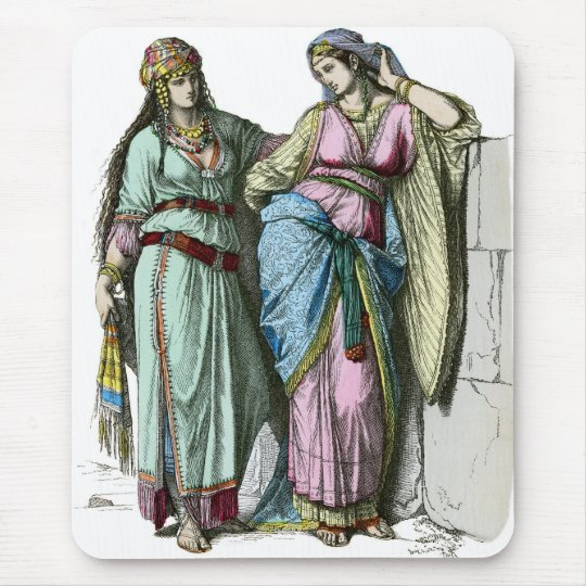Jewish women from before the time of Christ Mouse Pad