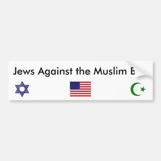 Jews against the Muslim Ban Bumper Sticker