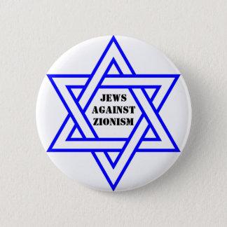 Jews against zionism pinback button