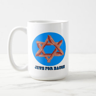 JEWS FOR BACON COFFEE MUG
