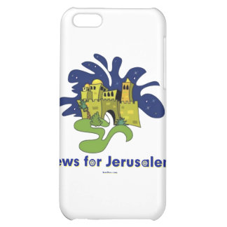 JEWS FOR JERUSALEM GIFT iPhone 5C COVERS