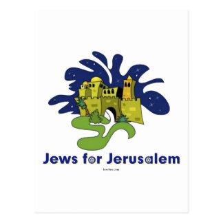 JEWS FOR JERUSALEM GIFT POSTCARD