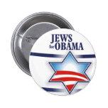 Jews for Obama 2 Inch Round Button