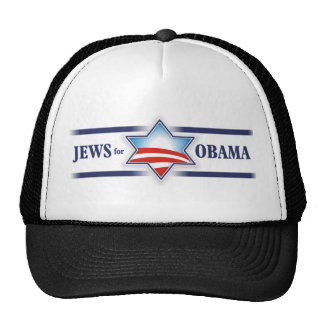 Jews for Obama Cap Mesh Hats