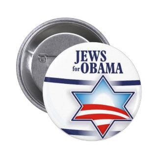 Jews for Obama Pinback Button