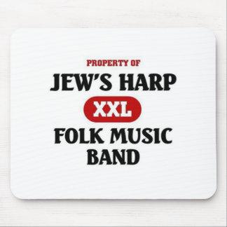 Jew's Harp Folk Music Band Mouse Pad