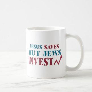 Jews Invest - Jewish finance humor Coffee Mug