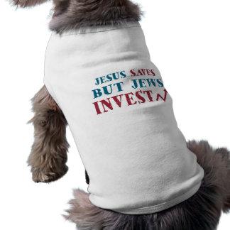 Jews Invest - Jewish finance humor Shirt