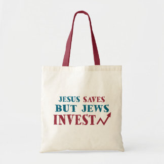 Jews Invest - Jewish finance humor Tote Bag