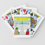 Jews like Christmas too - cartoon Bicycle Card Decks