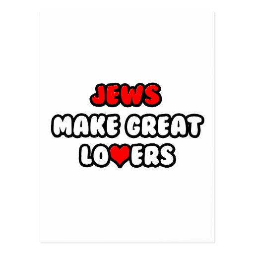 Jews Make Great Lovers Postcard