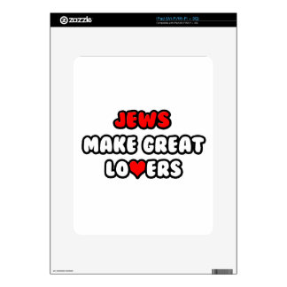 Jews Make Great Lovers Decals For The iPad