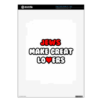 Jews Make Great Lovers iPad 2 Decal
