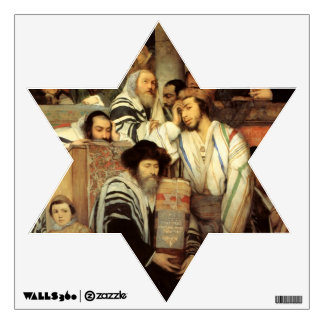 Jews Praying by Maurycy Gottlieb - Circa 1878 Wall Decal