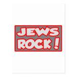 Jews Rock! Postcard