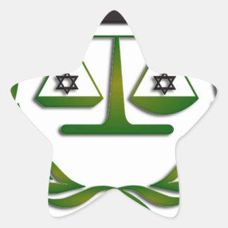 JEWSTICE.png Star Sticker
