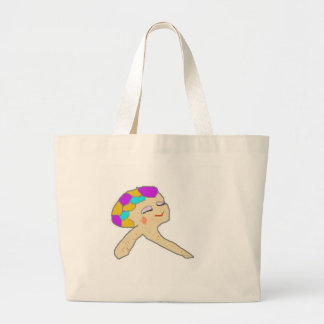 jez character from cartoon The Crils Canvas Bags