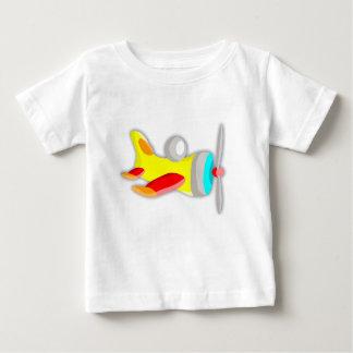JezzyLala Baby Toy Air Plane Yellow Baby T-Shirt
