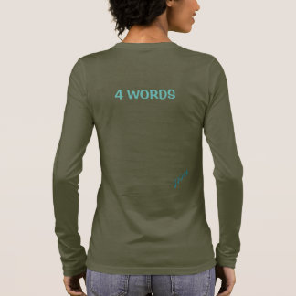 JFIA 4 Words Woman Strong Shirts & Tops