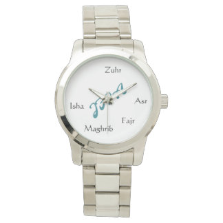 JFIA Tazkir Collection Mens Silver Watch