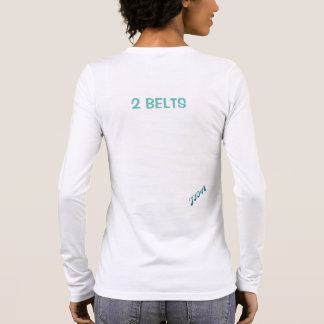 JFIA Two Belts Woman Strong Shirts & Tops