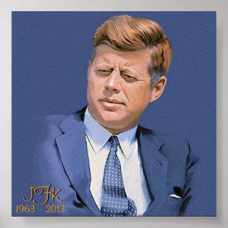 JFK 1963 - 2013 PÓSTER