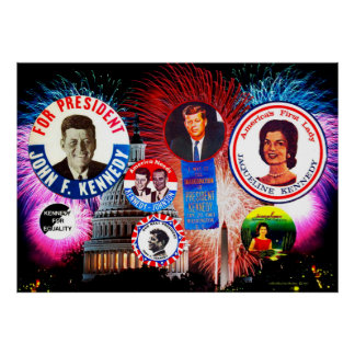 JFK 4th of July Posters