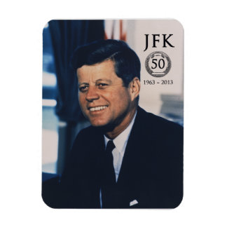 JFK 50th Anniversary Photo Magnet