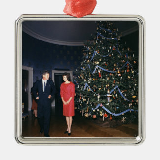 JFK And Jacqueline Kennedy Christmas Ornament
