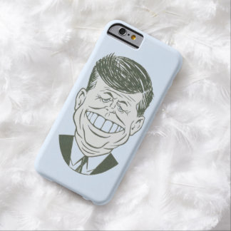 JFK Caricature Barely There iPhone 6 Case