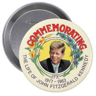 JFK Commemoration Button