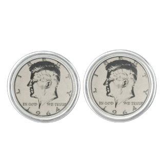 JFK Commemorative Half Dollar Cufflinks