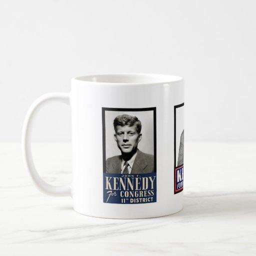 JFK del congreso a la Casa Blanca Tazas