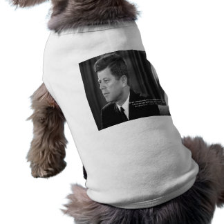 JFK Difference/Diversity Quote Dog Tee Shirt