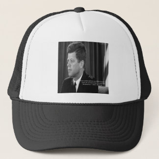 JFK Difference/Diversity Quote Trucker Hat