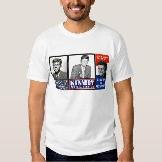 JFK en 1946, 1952 y 1960 Remeras