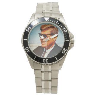 JFK en color vivo Reloj