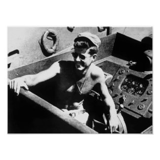 JFK en PT-109 Póster