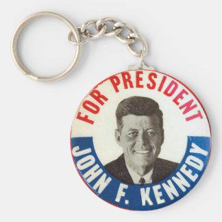 JFK for President - Keychain
