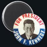 "JFK for President - Magnet<br><div class=""desc"">Rare blend of charisma,  talent and intelligence.</div>"