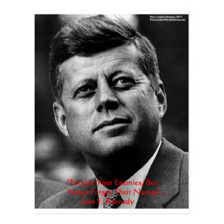 "JFK ""Forgive Not Forget"" Wisdom Quote Gifts & Card"