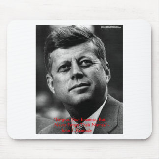 "JFK ""Forgive Not Forget"" Wisdom Quote Gifts & Card Mouse Pad"