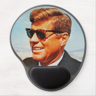JFK in sunglasses Gel Mousepads