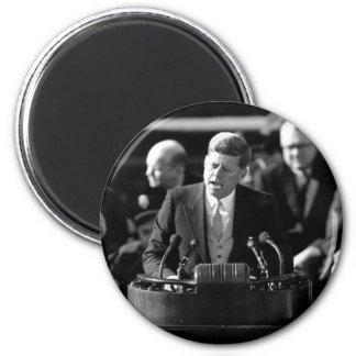 JFK Inauguaration 2 Inch Round Magnet