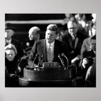 JFK Inauguaration Impresiones