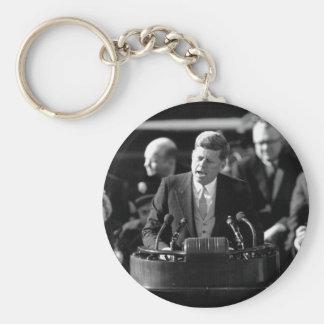 JFK Inauguaration Llavero Redondo Tipo Pin
