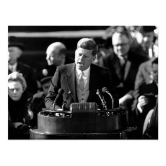 JFK Inauguaration Tarjeta Postal
