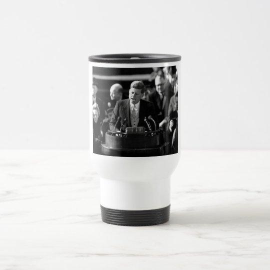JFK Inauguaration Travel Mug