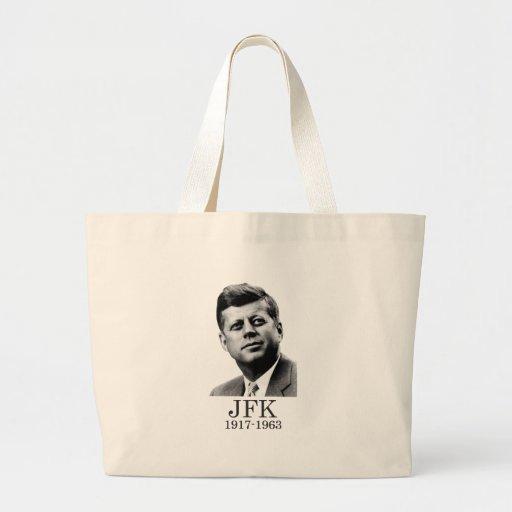 JFK - John F. Kennedy Canvas Bags